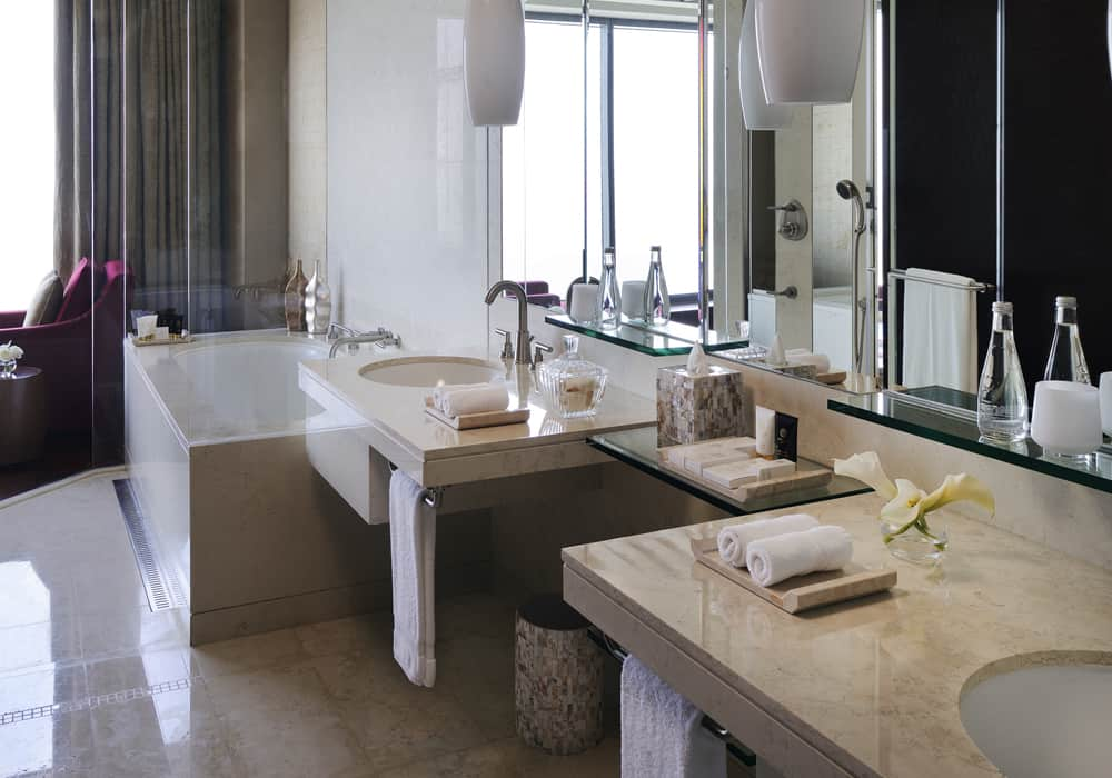 Fully Furnished One Bedroom Suite - Bathroom
