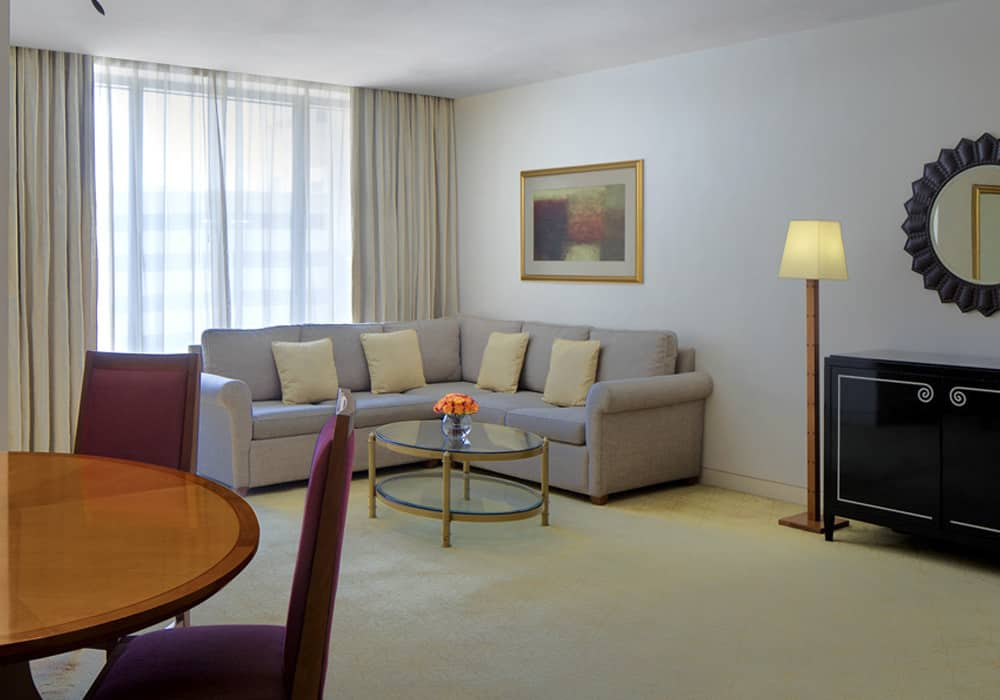 Fully Furnished Two Bedroom Suite Main Hall
