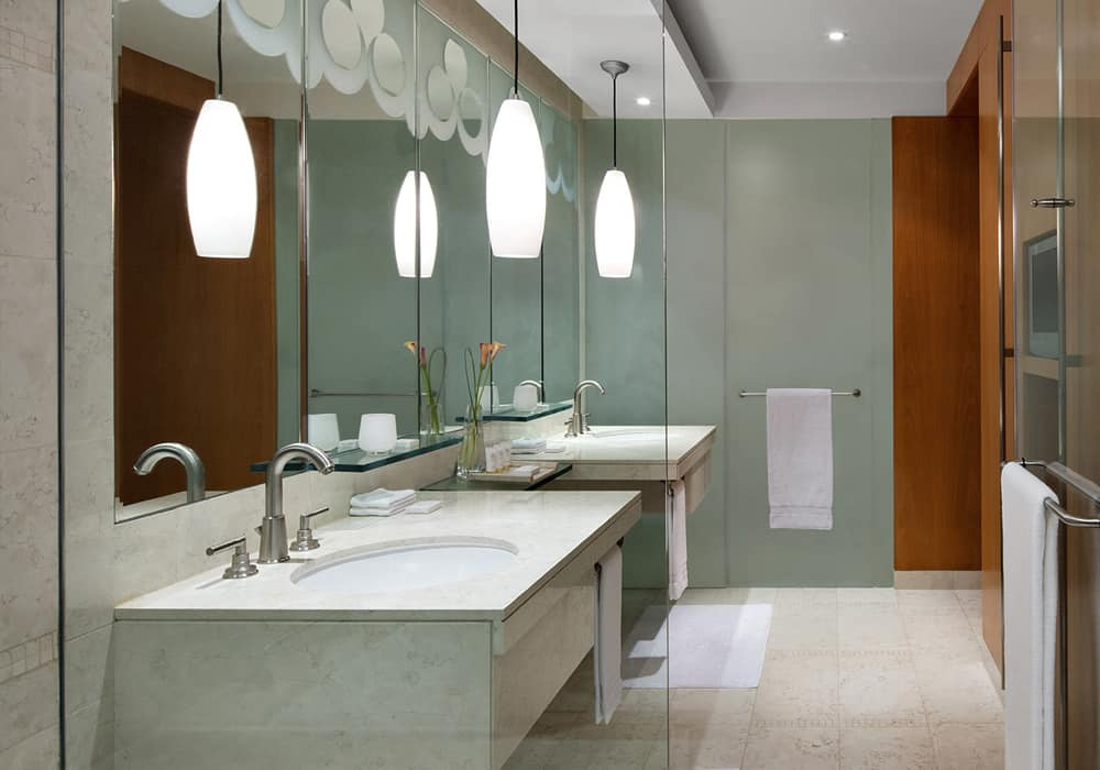 Fully Furnished Two Bedroom Suite Bathroom