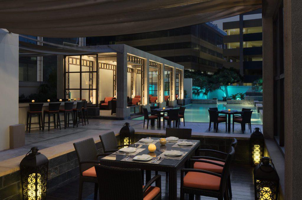 Glow Pool Bar