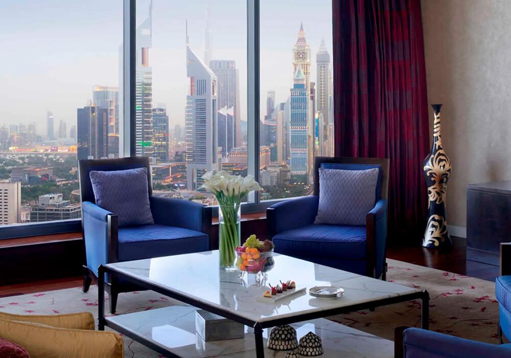 Rooftop Suite Balcony View