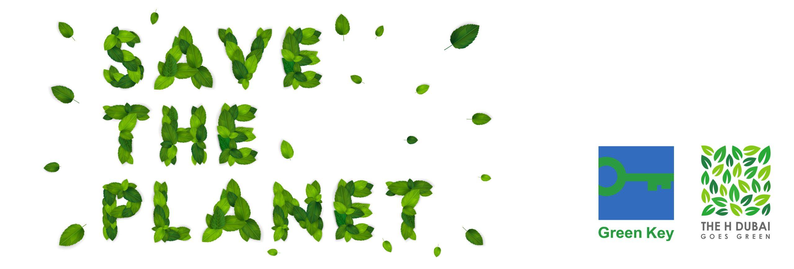 Go Green Key Iniative by H Hotel Dubai